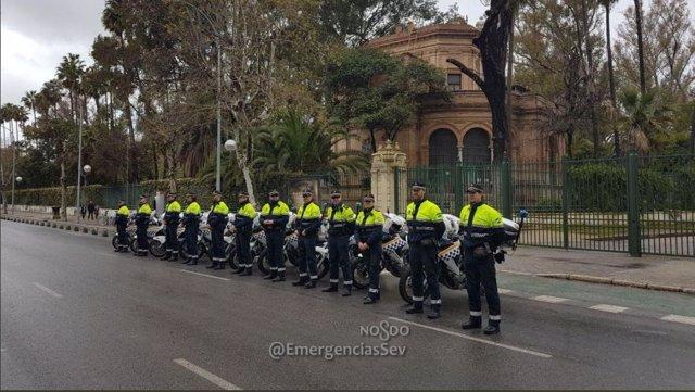 Policía Local en este Domingo de Ramos