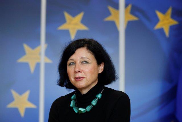 Vera Jourova, comisaria europea de Justicia