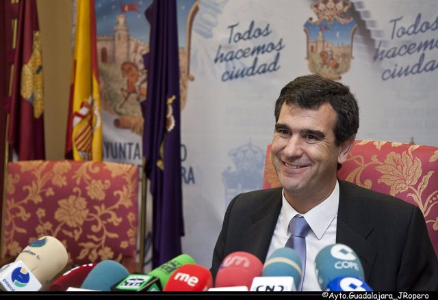 Antonio Román, Alcalde Guadalajara, PP