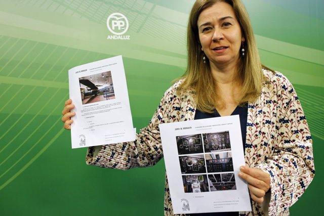 La parlamentaria del PP-A Teresa Ruiz-Sillero