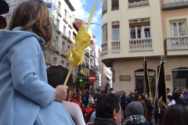 Valladolid (25-03-2018).- Procesión de 'La Borriquilla'
