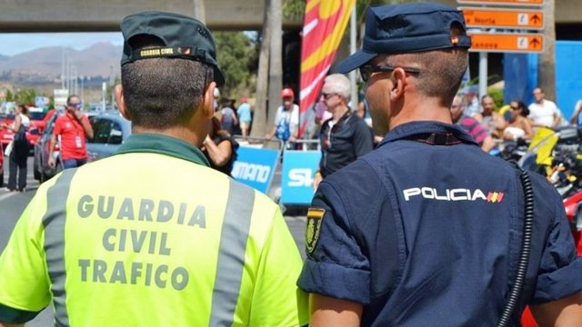 Foto de recurso de guardia civil y policía nacional