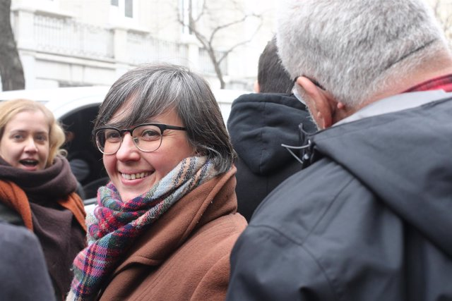 Mireia Boya llega al Tribunal Supremo para declarar por el proceso soberanista