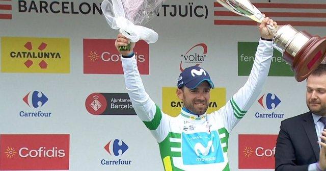 Alejandro Valverde Movistar Team Volta a Catalunya