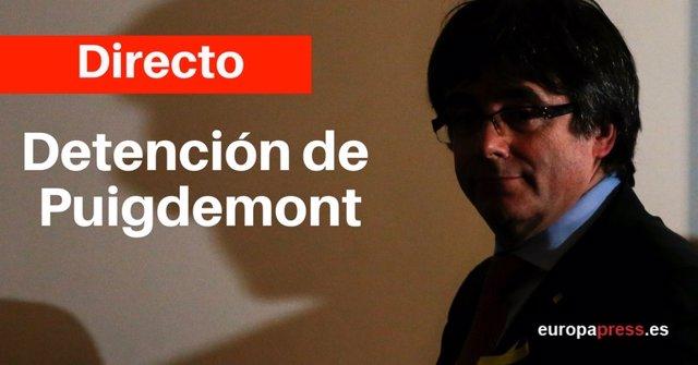 Directo | Detención de Puigdemont en Alemania