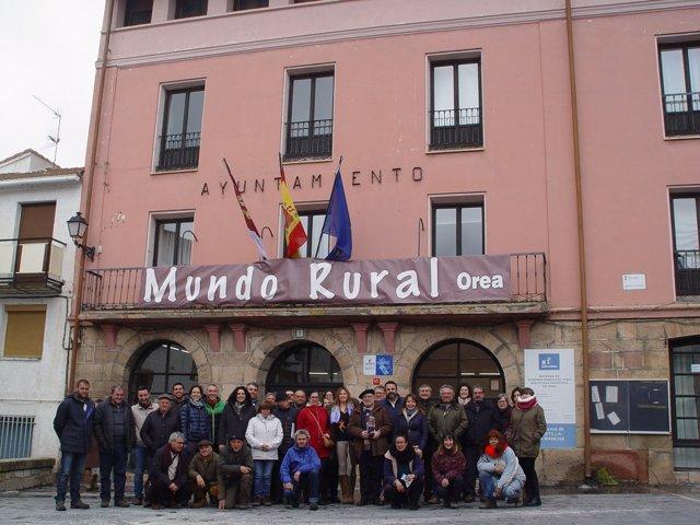 Participantes en las II Jornadas 'SOS mundo rural'