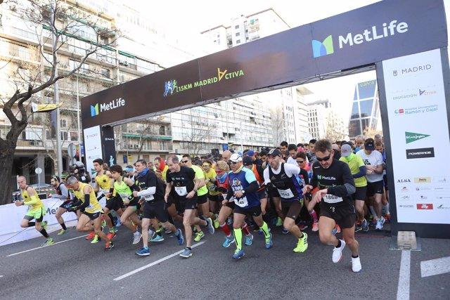 Abel Antón 15 Km MetLife Madrid Activa
