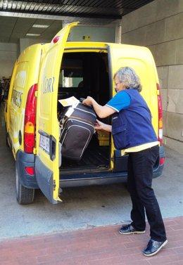 Servicio de Correos para el transporte de mochilas en el Camino de Santiago