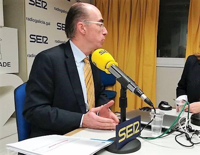 Jesús Vázquez Almuíña, en entrevista en la Cadena Ser