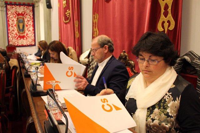 Ciudadanos / Fiscalización Y Control Pleno Cartagena / Cs Pide Explicaciones En