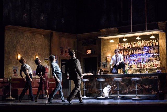 Ballet homenaje al compositor Leonard Bernstein