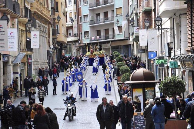 Procesión del Encuentro de Teruel.
