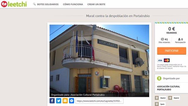 Edificio del Ayuntamiento de Guadalmejud de Portalrubio