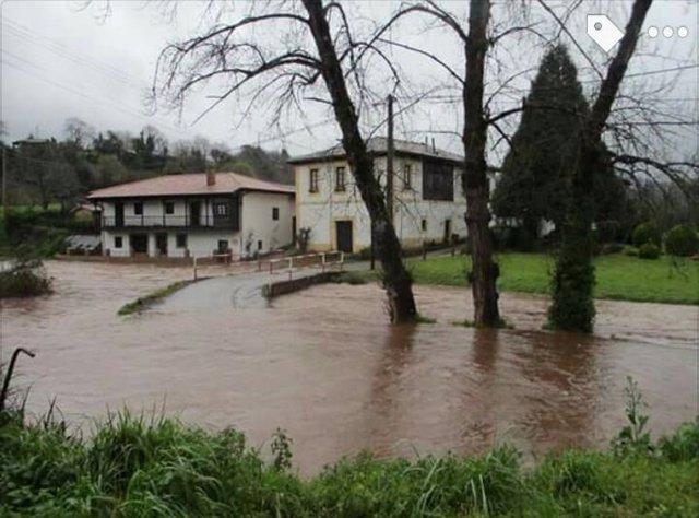 Imagen del río Linares (Villaviciosa).