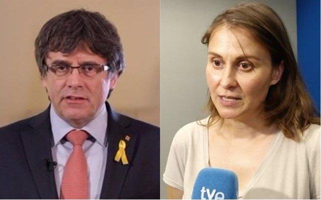 Carles Puigdemont y Carles Puigdemont
