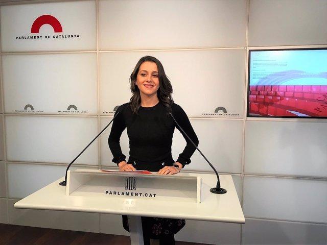 Inés Arrimadas, Cs