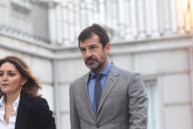 El actual jefe de los Mossos, Ferran López, llega al Tribunal Supremo