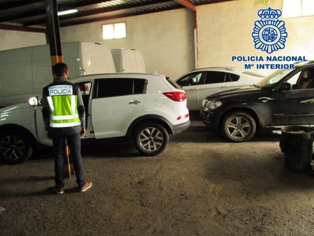 Np: Recuperados En Algeciras Nueve Vehículos Sustraidos En España