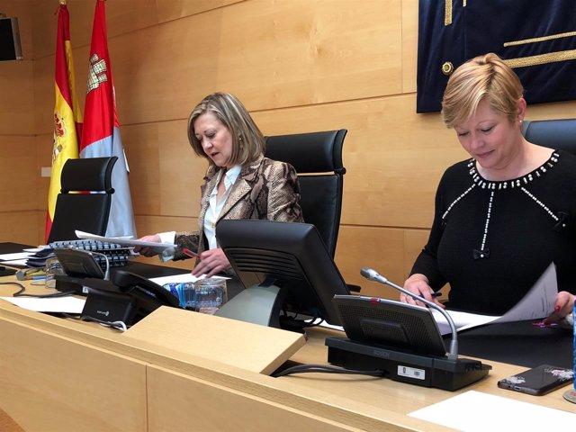 Del Olmo explica en las Cortes el objetivo de déficit 26/03/2018