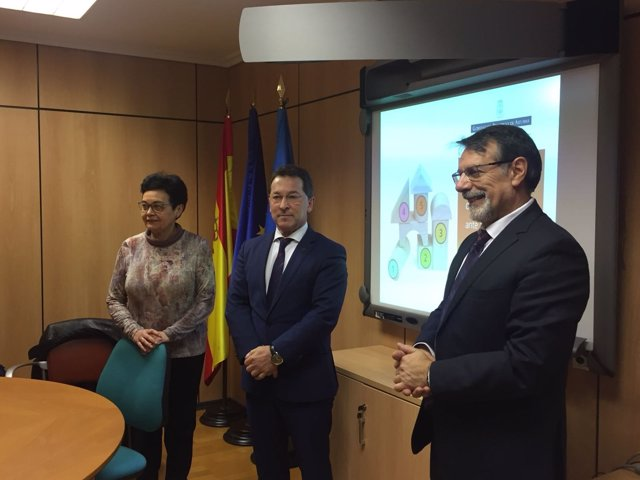 Dolores Guerra, Genaro Alonso y Arturo Pérez
