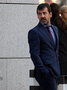 El jefe de los Mossos, Ferrán López. ARCHIVO
