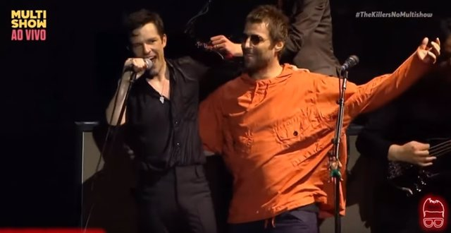 BRANDON FLOWERS Y LIAM GALLAGHER