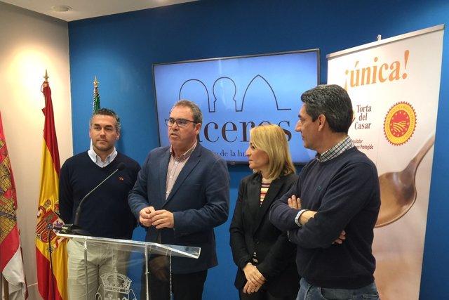 Convenio DOP y Ayto Cáceres