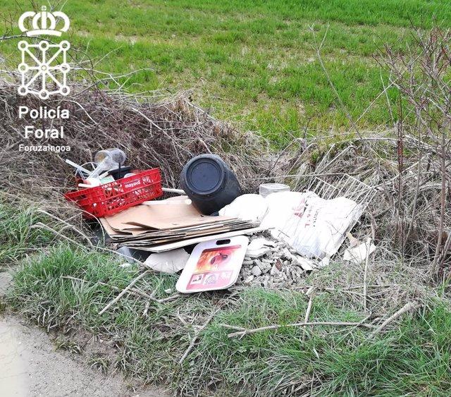 Escombros en Olloki.