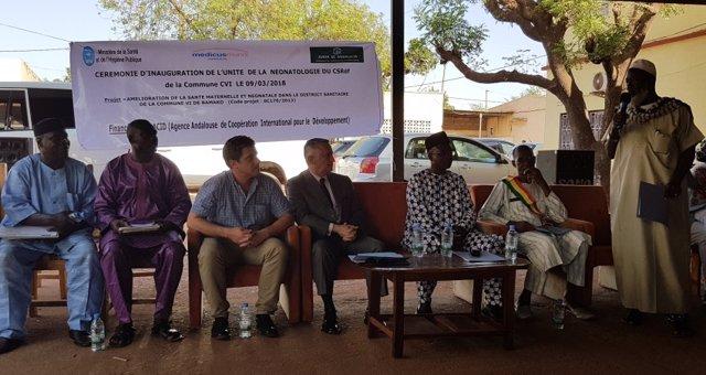 Inaugurado en Bamako (Malí) un servicio de Neonatología con cooperación andaluza