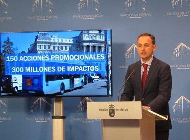 Javier Celdrán en foto de archivo