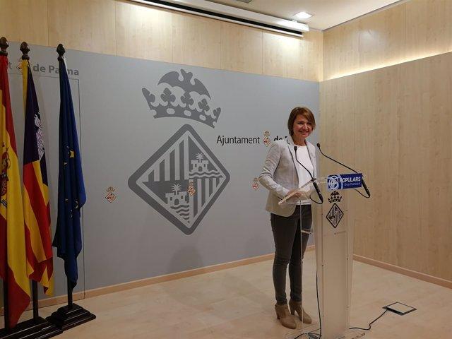 La portavoz del PP de Palma, Margalida Durán