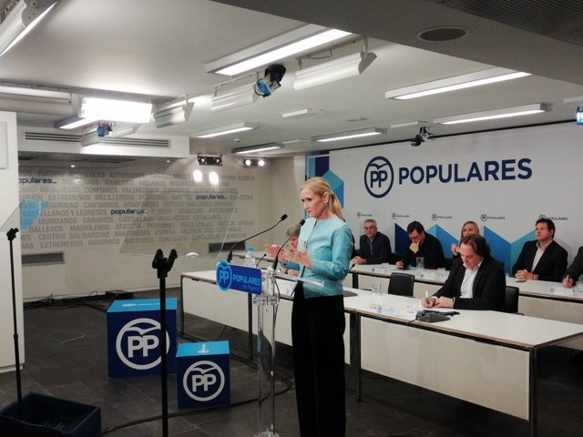 Cristina Cifuentes en el Comité Ejecutivo Autonómico