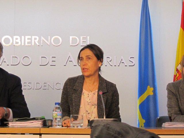 La consejera de Hacienda, Dolores Carcedo