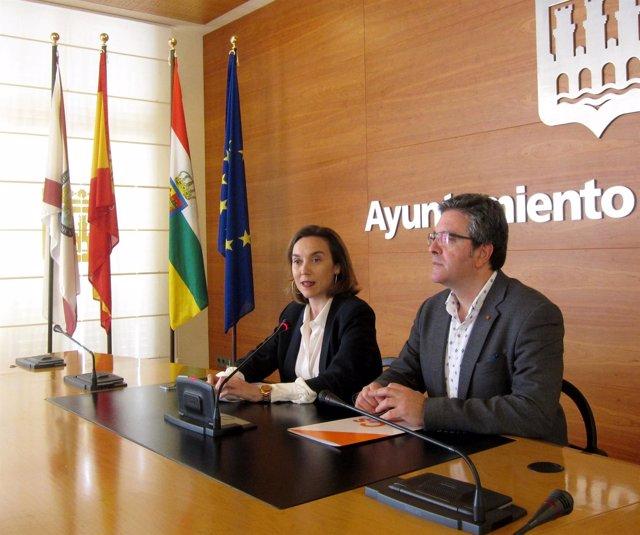 Gamarra y San Martín comparecen ante los medios