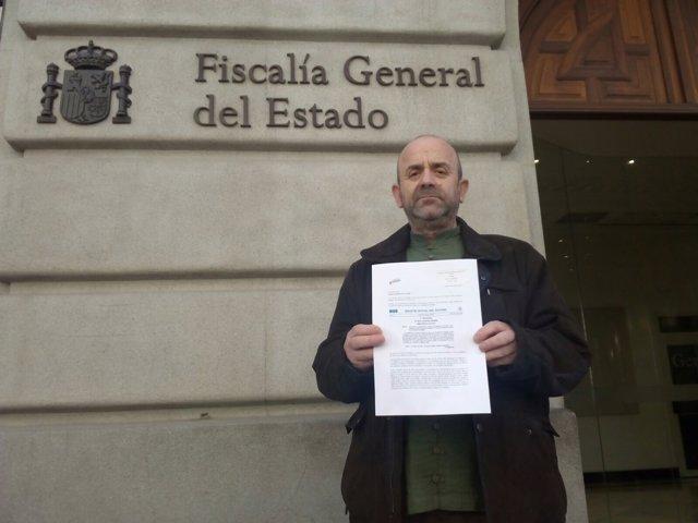 Bonifacio Sánchez, representante de la Asociación para la Memoria Histórica