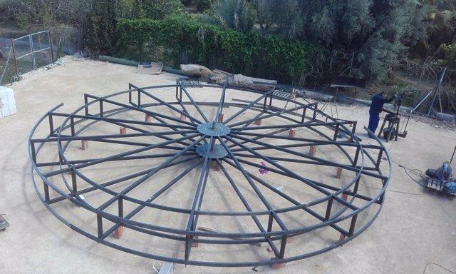 Noria gigante Plaza Circular