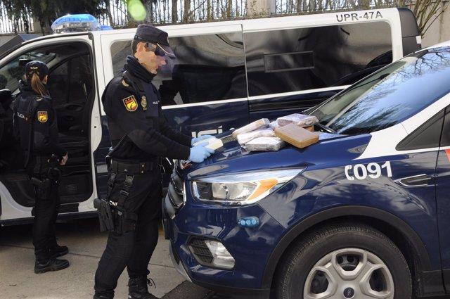 Incautación de cocaína en Burgos 26-03-2018