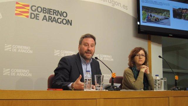 José Luis Soro y  Marisa Romero presentan Slow Driving Aragón