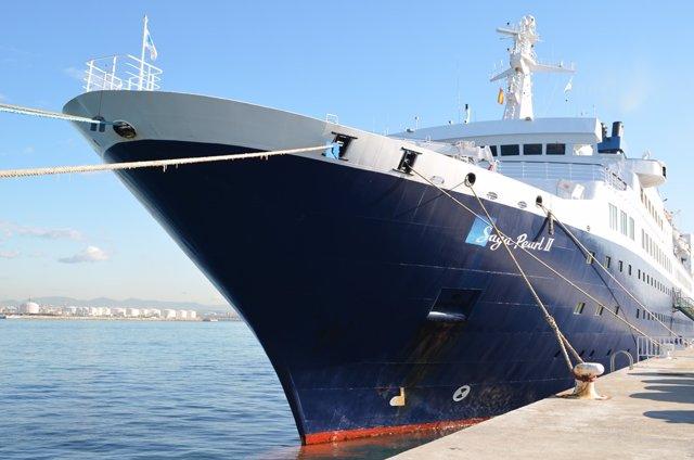 Crucero en el Puerto de Tarragona