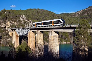 La temporada del Tren dels Llacs entre Lleida i La Pobla començarà el 14 d'abril (GENERALITAT DE CATALUNYA)