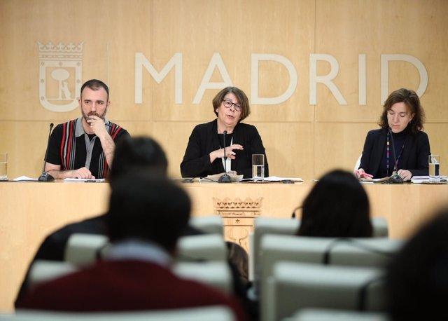 Rueda de prensa con Inés Sabanés y Nacho Murgui