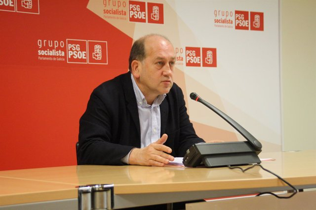 Xoaquín Fernández Leiceaga, este lunes