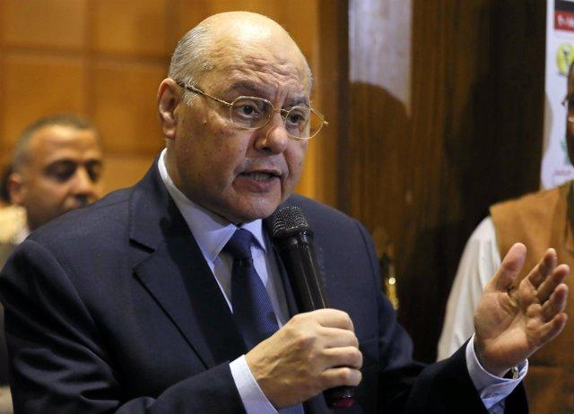 El candidato a la Presidencia de Egipto Musa Mostafá Musa
