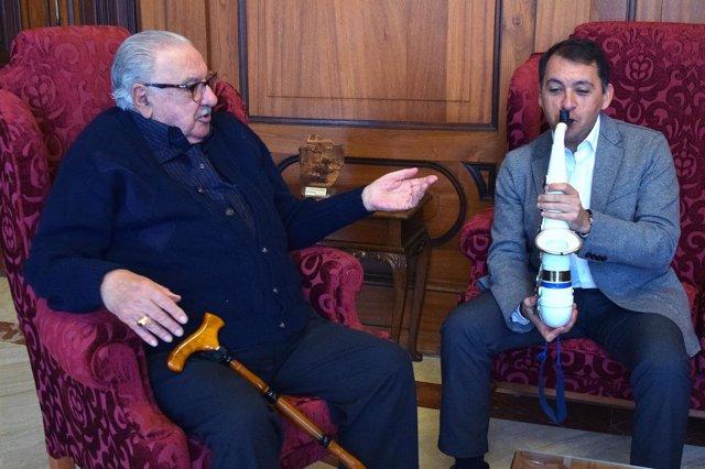 Nicolás Mingorance y José Manuel Bermúdez