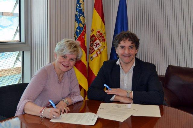 Firma de la adhesión del Patronat de Turisme al Código Ético Mundial de Turismo