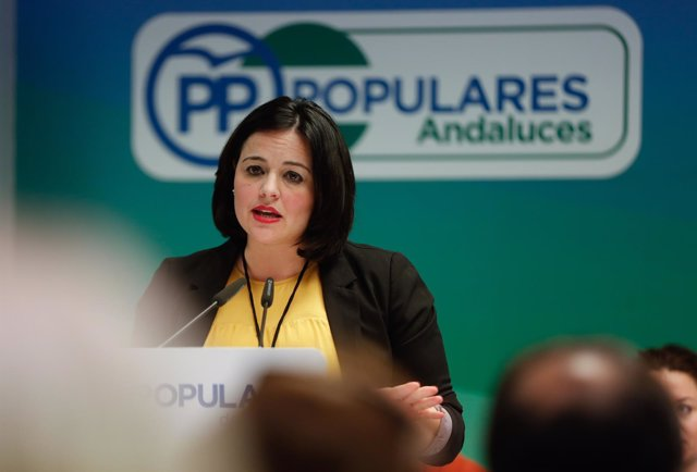 La presidenta del PP de Sevilla, Virginia Pérez