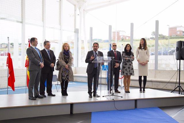 Inauguración pistas deportivas Uneatlántico