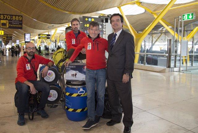 Carlos Soria expedición Dhaulagi Director General IFEMA, Eduardo López-Puertas