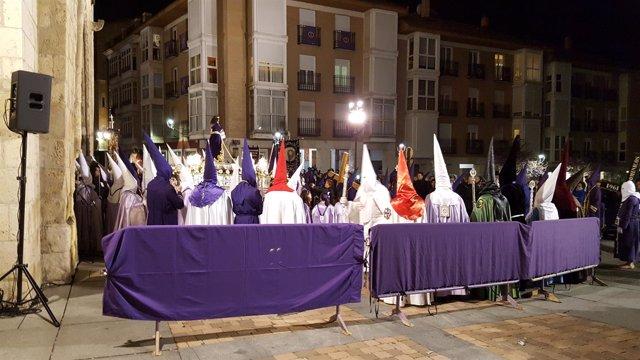 Archivo. Procesión del Prendimiento de Palencia