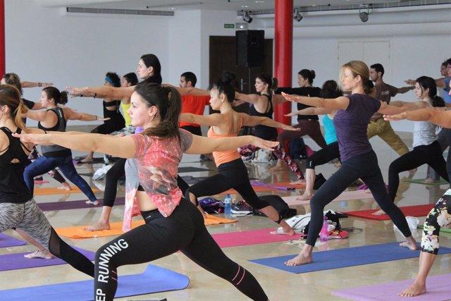 Talleres de yoga en Natura Málaga 2017